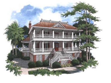 two story house plans with wrap around porch pennington bend lowcountry home plan 024s 0018 house