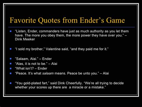 quotes from ender s enders quotes like success