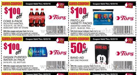 tops grocery coupons printable tops store printable coupons save on coca cola pantene
