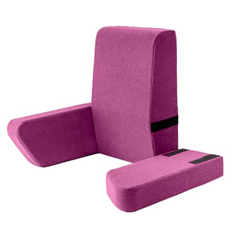 back support pillow for bed reading thistle una bed rest support pillow reading cushion