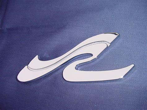 sea ray boats spare parts sea ray searay quot sr quot wave logo emblem badge chrome new 6 1