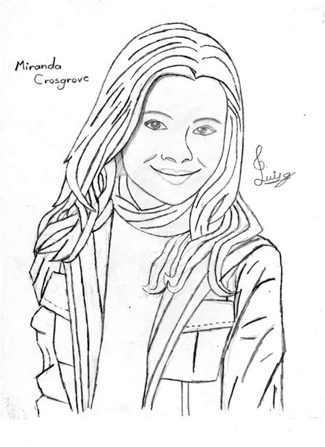 Icarly Color Pages Coloring Home Icarly Coloring Pages To Print