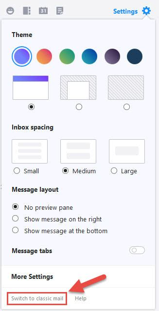 yahoo mail layout options 187 yahoo mail just got a design refresh and here are the 10