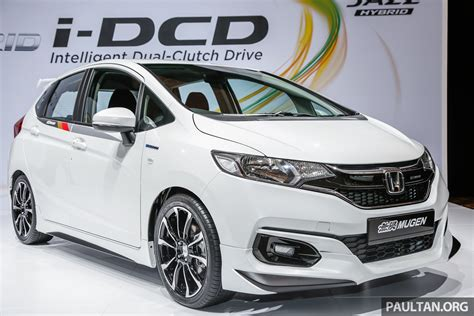 Honda Jazz 2020 Malaysia by 2017 Honda Jazz Facelift Mugen Prototype With Bodykit