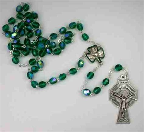 celtic cross with rosary custom rosaries from designet