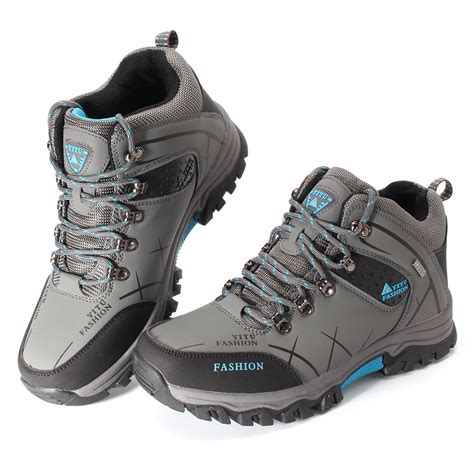 athletic non slip shoes mens big size trail hiking boots waterproof athletic non