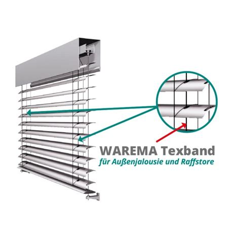 Jalousie Zugband by Warema Textilband Texband Tex Band 187 Kaufen 187 Shop