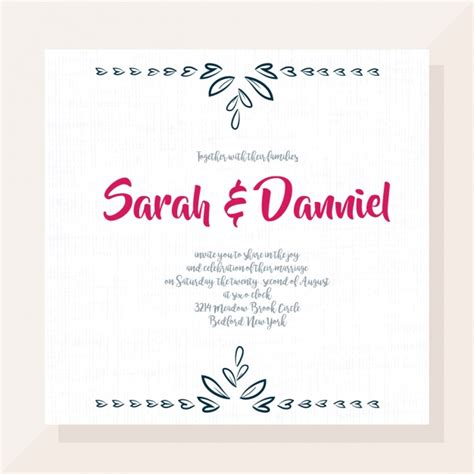 invitation design vector free download wedding invitation design vector free download
