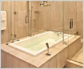 Whirlpool Bath Shower jacuzzi bath shower combination built in tiled bathtub soaking tub