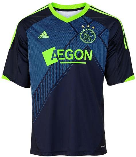 Jersey Ajax Away By Premier Sport top 10 football jerseys 2012 13