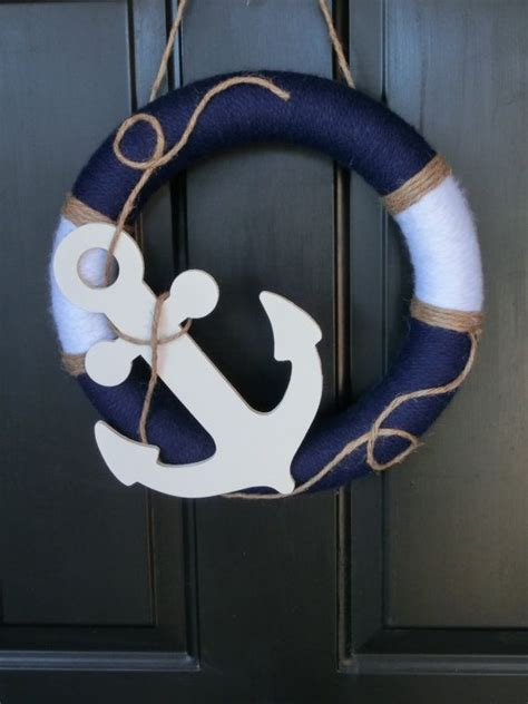 anchor home decor 25 best ideas about nautical wreath on