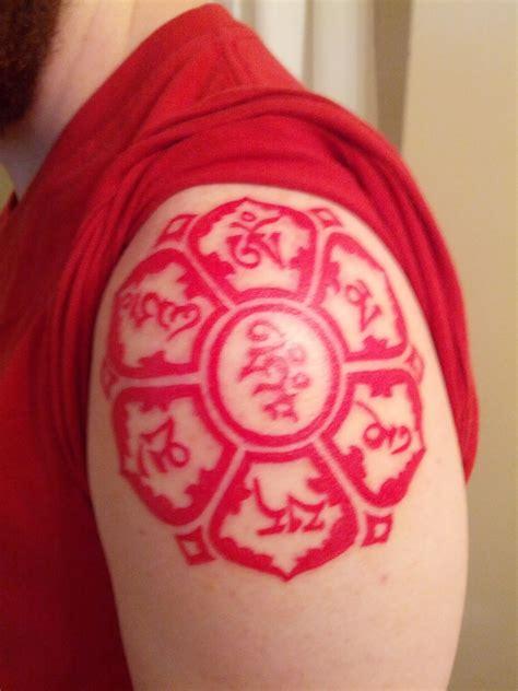 red buddha tattoo buddhist tattoos askideas