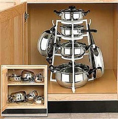 Promo Rak Panci Holder Organizer Cookware Teflon Wajan 4 Susun Dapur 2 jual pan organizer tempat gantungan panci rak rack wajan