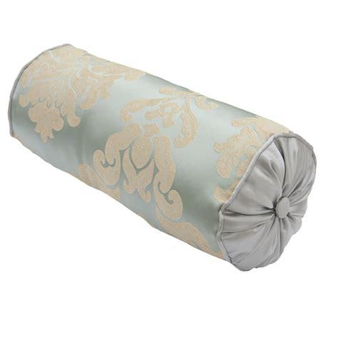bolster cusions scatter box elizabeth damask embossed filled bolster