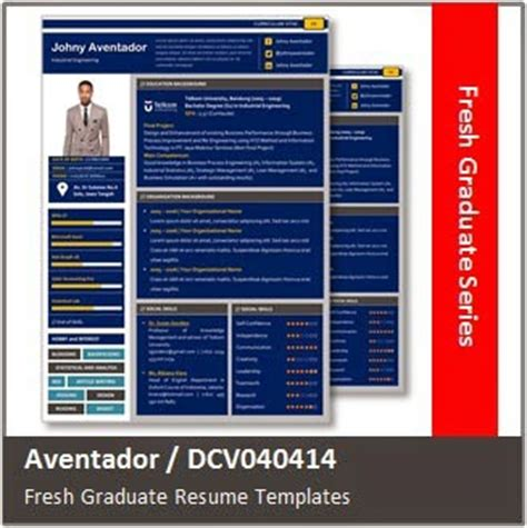 desain cv fresh graduate desain cv kreatif aventador curriculum vitae untuk