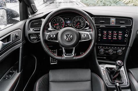 volkswagen gti interior 2018 volkswagen golf gti test the balanced