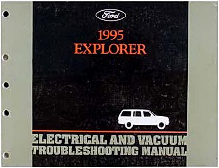 ford explorer 1995 2001 repair manual factory manual 1995 ford explorer electrical vacuum troubleshooting manual factory repair manuals