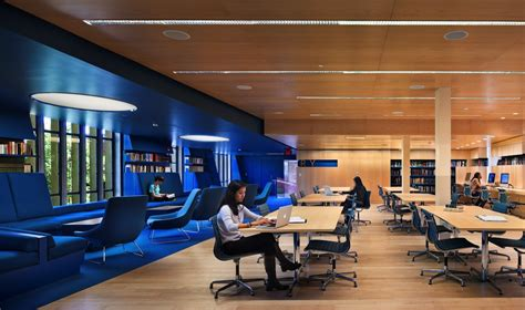 u interior design julian library princeton yale school of architecture