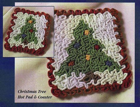 christmas tree hot pad pattern pin by susan lowman on wiggly crochet patterns pinterest
