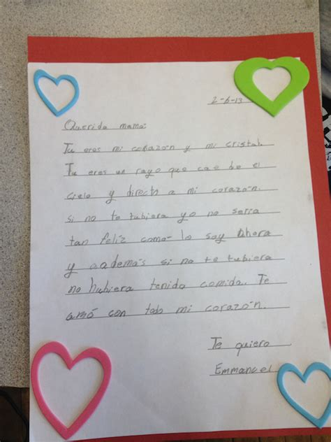valentines letter for s day letters by gray school students