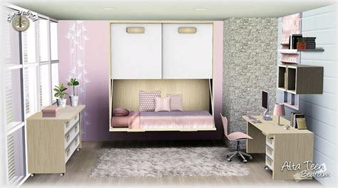 sims 3 bedroom sets my sims 3 blog alta teen bedroom set by simcredible designs