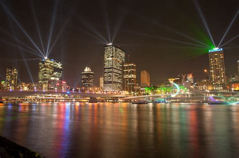 photo of the week santos city of lights brisbane