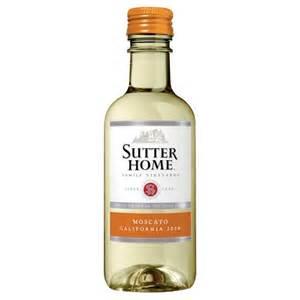 sutter home mini bottles sutter home moscato 187ml