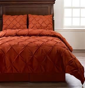Emerson 4 piece pinch pleat puckering comforter mini set check price
