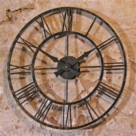 Garden Clock by Buy Vintage Style Outdoor Clock The Worm That Turned
