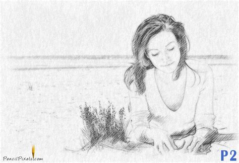 simple pencil painting easy pencil sketches of nature www imgkid the
