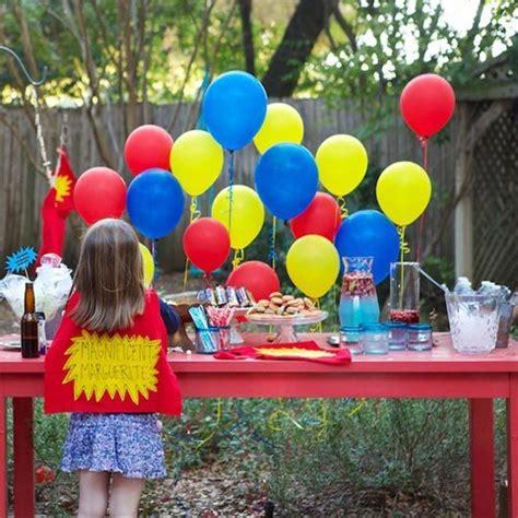 decorar globos superheroes fiesta infantil superh 233 roes decoraci 211 n fiestas