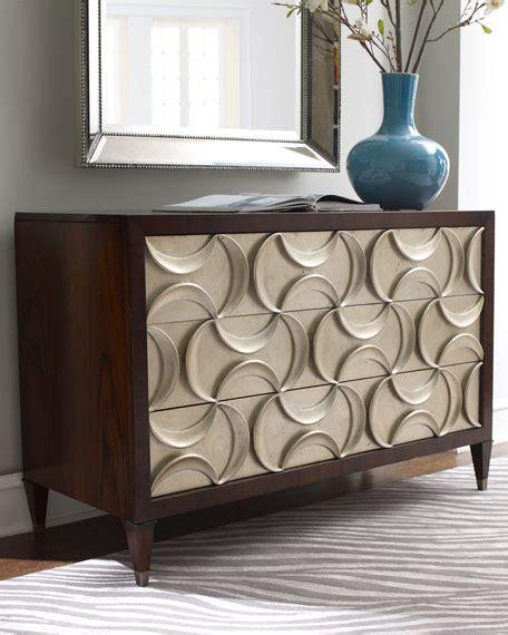 Silver Leaf Bedroom Furniture Ribbons Silver Leaf Chest