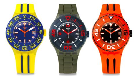 swatch dive swatch s dive watches won t take you to the depths of