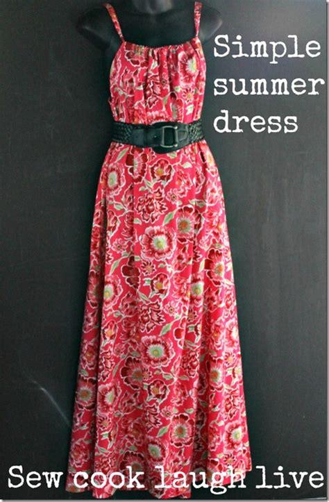 pattern dress easy free maxi dress sewing tutorial