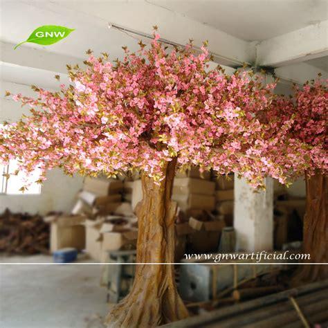 life size cheap artificial big trees landscape plastic gnw bls047 wedding wishing tree artificial sakura flower