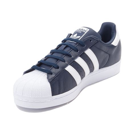 Adidas White Superstar adidas originals superstar navy white soleracks