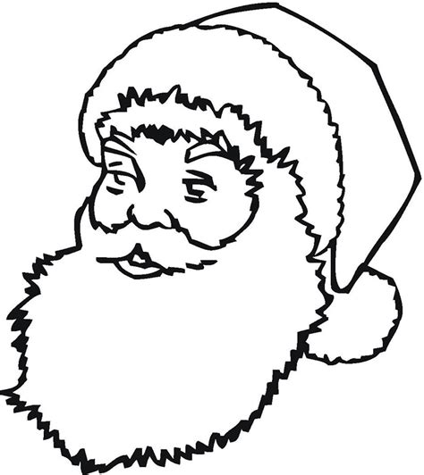 60 best santa templates shapes crafts colouring pages