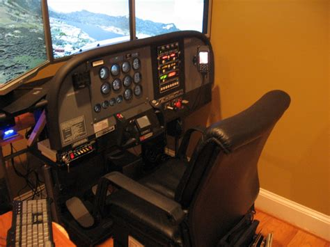 cessna 172 cockpit simulator images