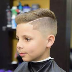 Galerry boy haircut girl