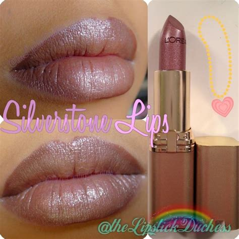 Lip Tint Loreal l oreal colour riche lipcolour in silverstone this is my