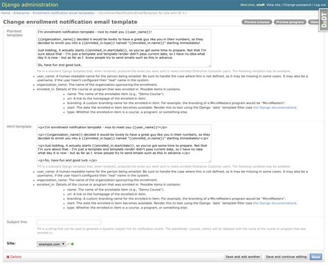 configuration and usage edx enterprise 0 31 2 documentation
