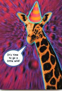 psychedelic birthday cards giraffe birthday card is crafted in popliments