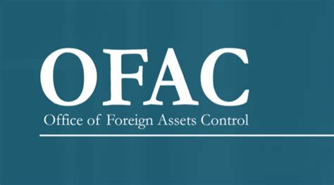 Office Of Foreign Assets Ofac Sanctions