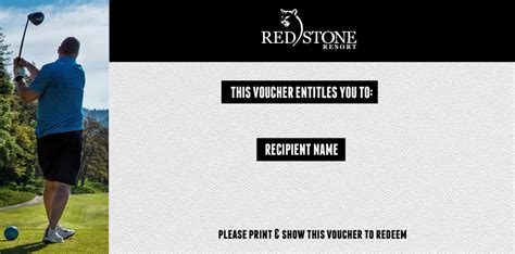 Redstone Gift Card - 200 pro shop gift card redstone resort