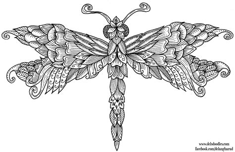 Dragonfly Coloring Book Pages by Dragonfly Colouring Page By Welshpixie On Deviantart