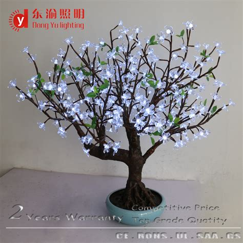 home decor trees factory direct artificial flowers trees led light display