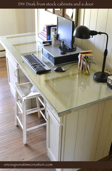 Vintage Door Desk Once Upon A Time Creation Diy Door Desk