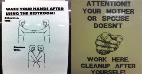 Bathroom Etiquette In College 22 Bathroom Etiquette Signs From Around The World