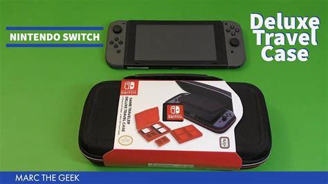 Rds Nintendo Switch Deluxe System rds nintendo switch traveler deluxe travel schwarz ab 17 90 preisvergleich bei