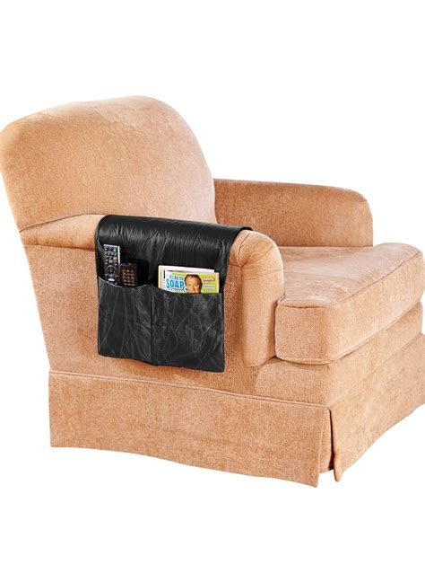 armchair organizers leather armchair organizer drleonards com